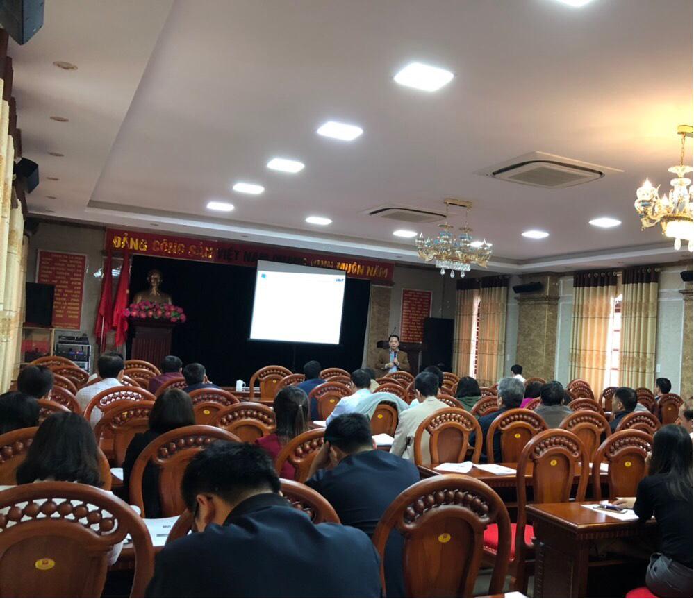 Tập huấn tại Ninh Giang ngày 2020