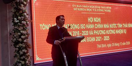 Tổng kết ISO 9001:2015 tại tỉnh Thái Bình