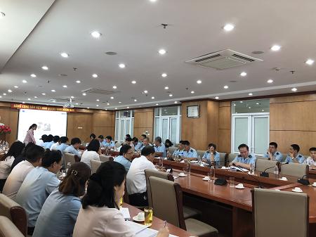 Hội nghị ISO tại Cục Hải Quan Hải Phòng