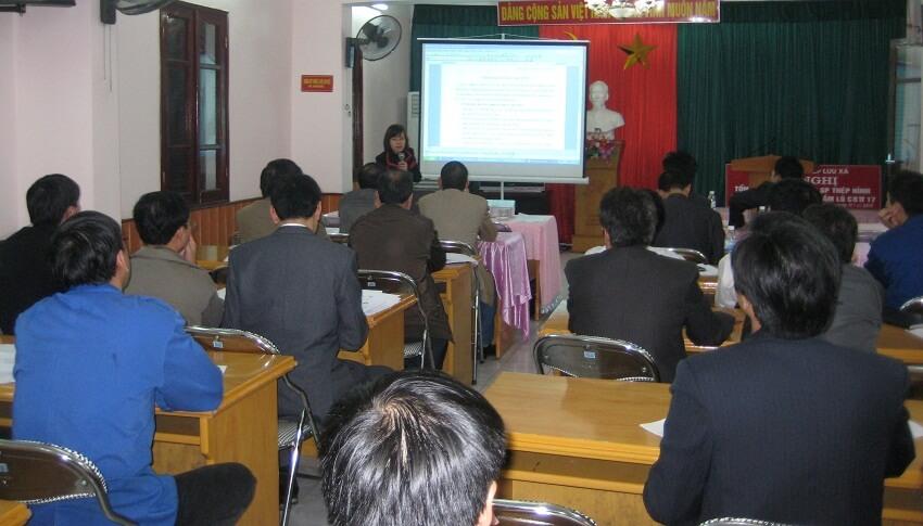 Khoá đào tạo ISO 14001:2004 tại NM cán thép Lưu Xá - Cty CP Gang thép Thái Nguyên