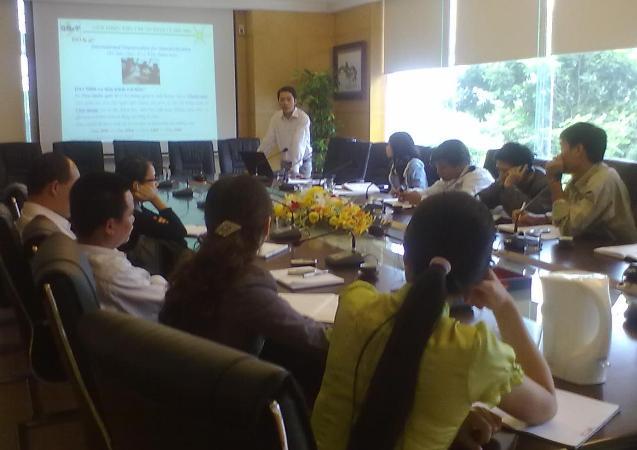 Đào tạo nhận thức HTQLCL ISO 9001:2008 tại Công ty CP XD và KTHT Thành Nam