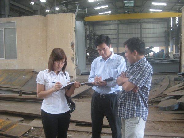 Khảo sát đánh giá thực trạng môi trường tại Cty Cổ phần Cơ điện và Xây dựng VN