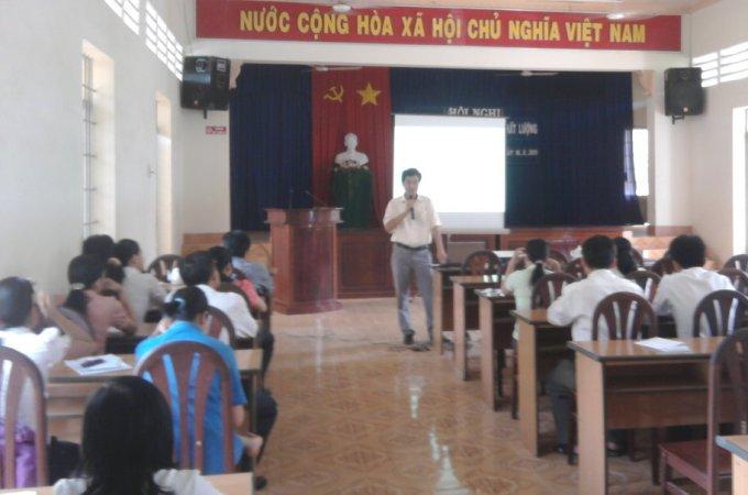 Hội nghị triển khai HTQLCL theo TCVN ISO 9001:2008 tại huyện Dương Minh Châu