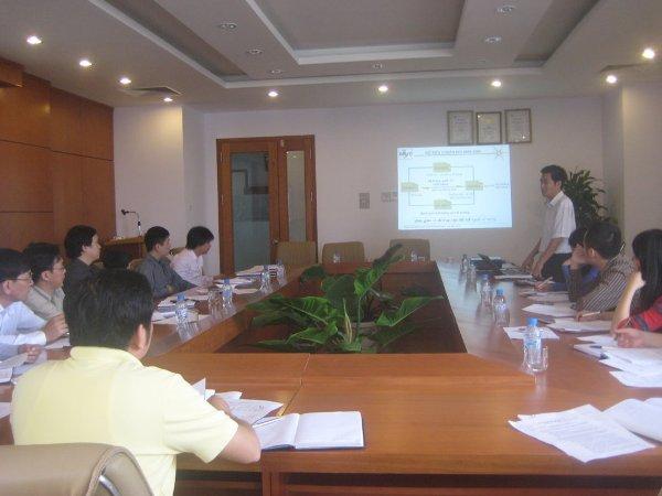 Tập huấn nhận thức HTQLCL theo TCVN ISO 9001:2008 tại Công ty CP Lilama Hà Nội