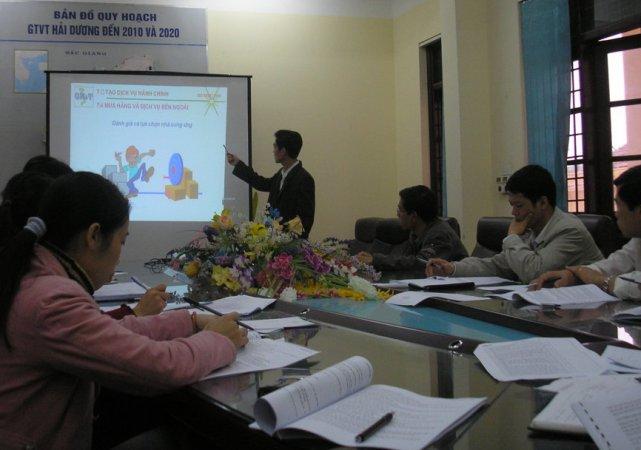 Tập huấn nhận thức HTQLCL ISO 9001:2000 tại Sở Giao thông Vận tải Hải Dương