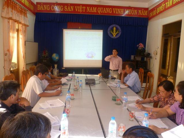Tập huấn nhận thức HTQLCL theo TCVN ISO 9001:2008 tại Chi cục BVTV Phú Yên