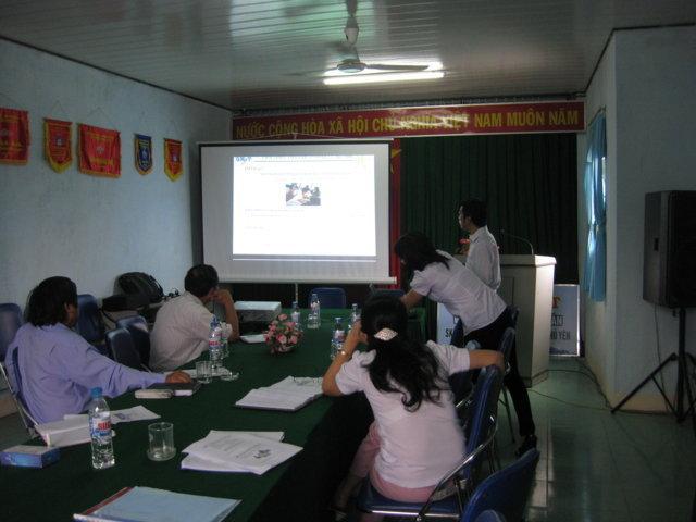 Tập huấn nhận thức HTQLCL TCVN ISO 9001:2008 tại Chi cục DSKHHGĐ Phú Yên