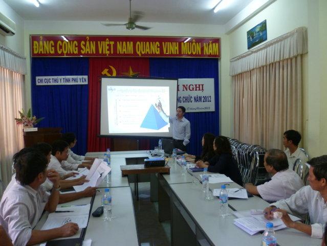 Tập huấn nhận thức HTQLCL theo TCVN ISO 9001:2008 tại Chi cục Thú y Phú Yên