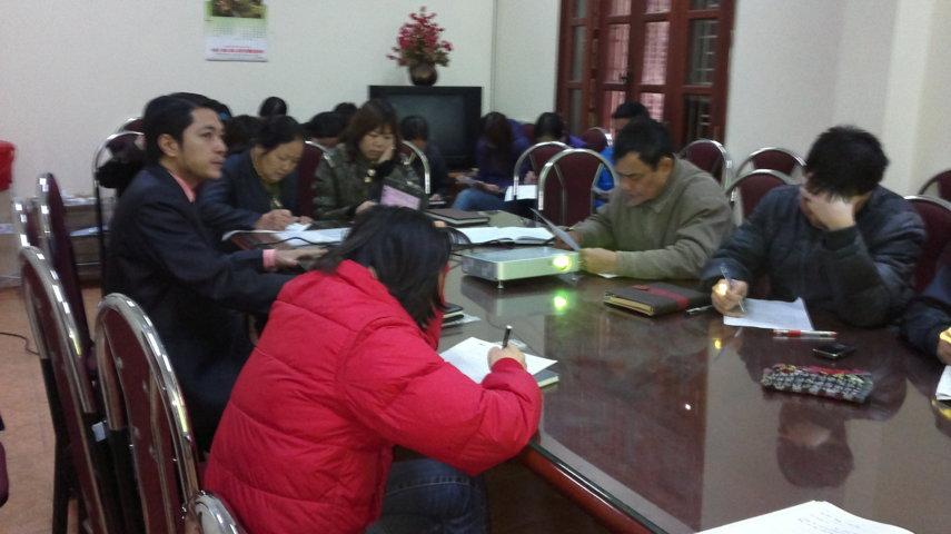 Hướng dẫn ban hành áp dụng HTQLCL ISO 9001:2008 tại UBND phường Trần Phú