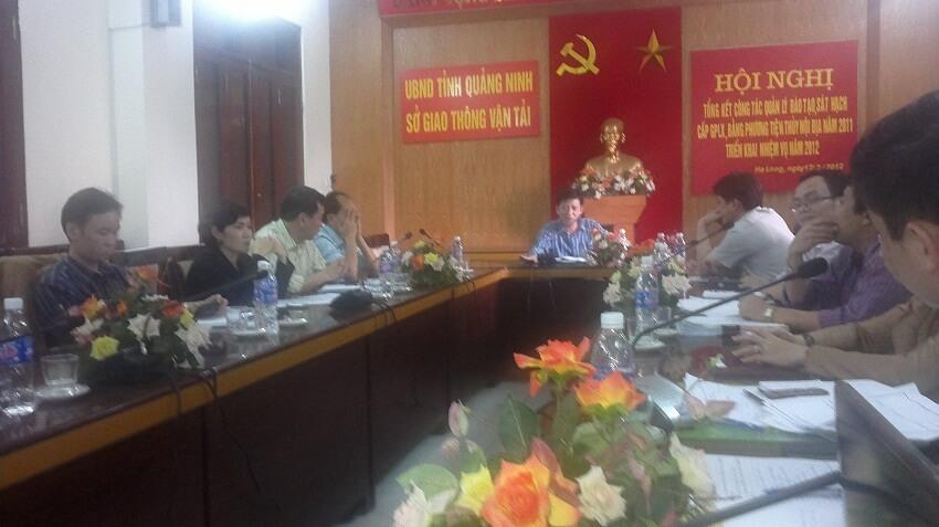 Họp xem xét LĐ về HTQLCL TCVN ISO 9001:2008 - Sở GTVT Quảng Ninh