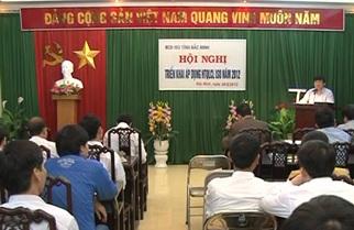 Hội nghị triển khai HTQLCL TCVN ISO 9001:2008 tại tỉnh Bắc Ninh năm 2012
