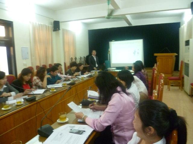Giới thiệu Mô hình khung và TCVN ISO 9001:2008 tại UBND quận Hoàn Kiếm