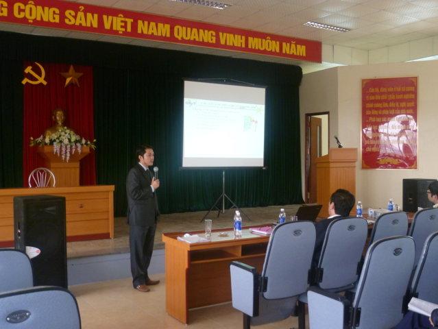 Giới thiệu HTQLCL ISO 9001:2008 và CT 5S tại Cty CP Cơ khí Trần Hưng Đạo