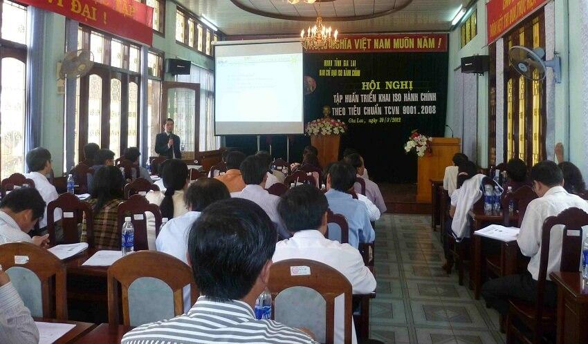 Hội nghị triển khai áp dụng HTQLCL tại các cơ quan hành chính nhà nước tỉnh Gia Lai