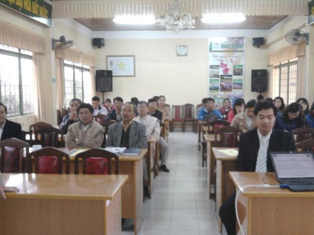 Tập huấn nhận thức HTQLCL ISO 9001;2008 tại Sở KH&CN Lâm Đồng