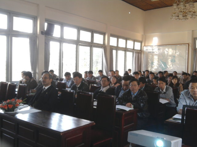 Hội nghị tập huấn nhận thức tiêu chuẩn ISO 9001:2008 tại Sở tài chính Lâm Đồng