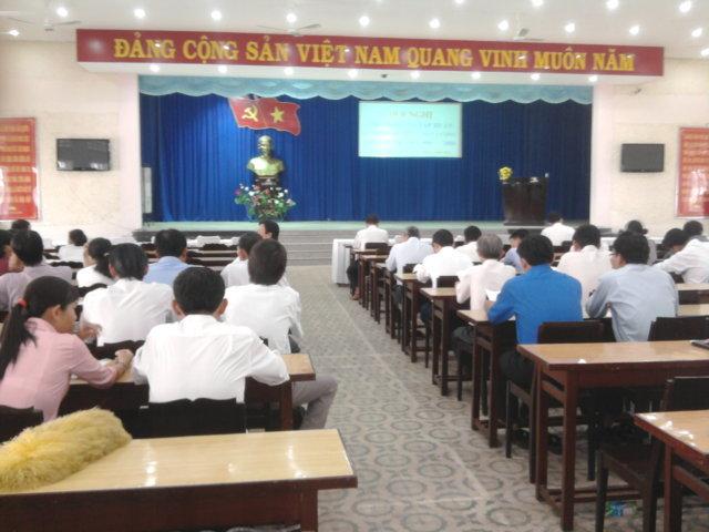 Tập huấn NT HTQLCL TCVN ISO 9001:2008 tại huyện Trảng Bàng, Tây Ninh