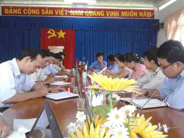 HD viết tài liệu HTQLCL TCVN ISO 9001:2008 tại xã Hưng Thuận huyện Trảng Bàng