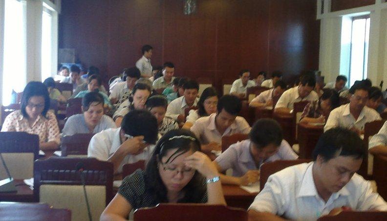 Tập huấn nhận thức HTQLCL ISO 9001:2008 tại TP. Nha Trang ngày 16-18/4/2012