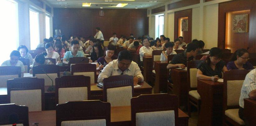 Tập huấn nhận thức HTQLCL ISO 9001:2008 tại TP. Nha Trang ngày 19-21/4/2012