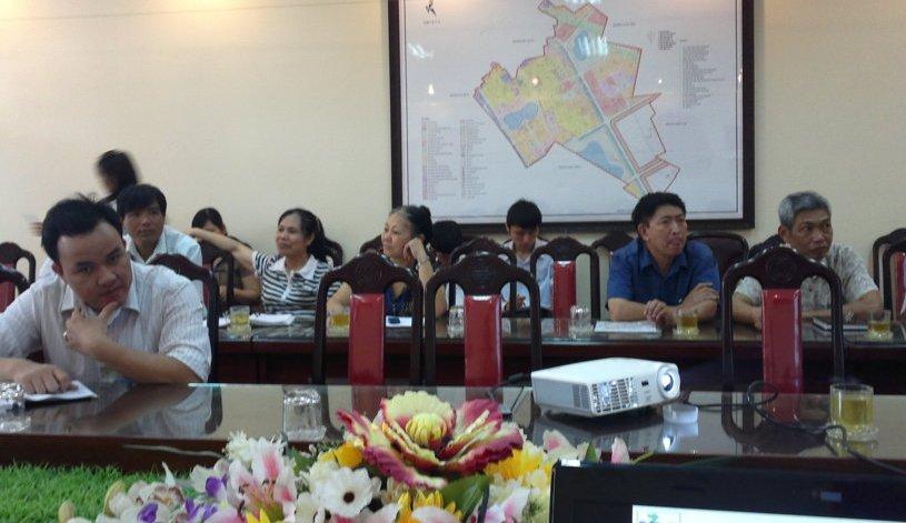 Tập huấn nhận thức HTQLCL ISO 9001:2008 tại UBND phường Việt Hưng