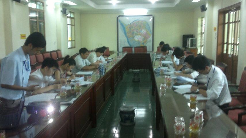 Tập huấn nhận thức HTQLCL ISO 9001:2008 tại UBND phường Ngọc Thuỵ