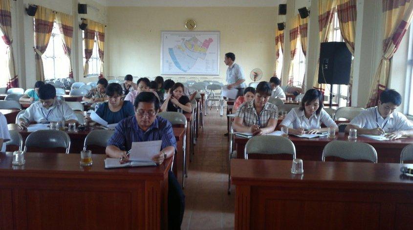 Tập huấn nhận thức HTQCL ISO 9001:2008 tại UBND phường Gia Thuỵ