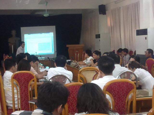 Tập huấn ĐGNB HTQLCL ISO 9001:2008 tại UBND quận Hoàn Kiếm