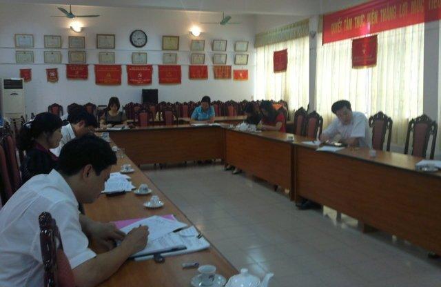 Tập huấn nhận thức HTQLCL ISO 9001:2008 tại Sở Kế hoạch và Đầu tư Hà Giang