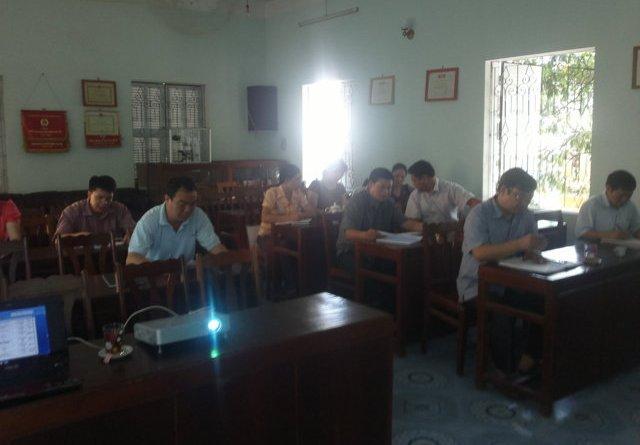 Tập huấn nhận thức HTQLCL ISO 9001:2008 tại Chi cục BVTV Hà Giang
