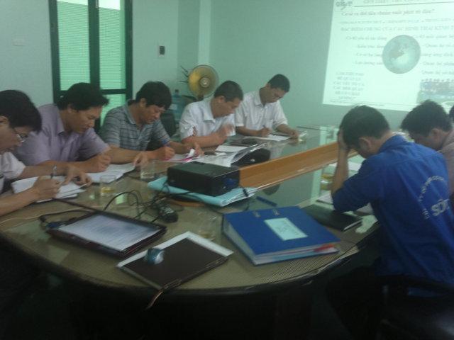 Đào tạo nhận thức HTQLCL ISO 9001:2008 tại Cty CP Cơ khí Chính xác số 1