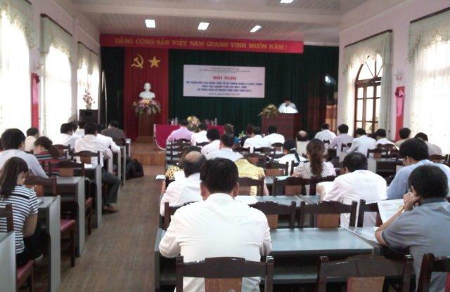 Hội nghị tổng kết áp dụng ISO 9001:2008 trong CQHCNN tỉnh Lạng Sơn 2011