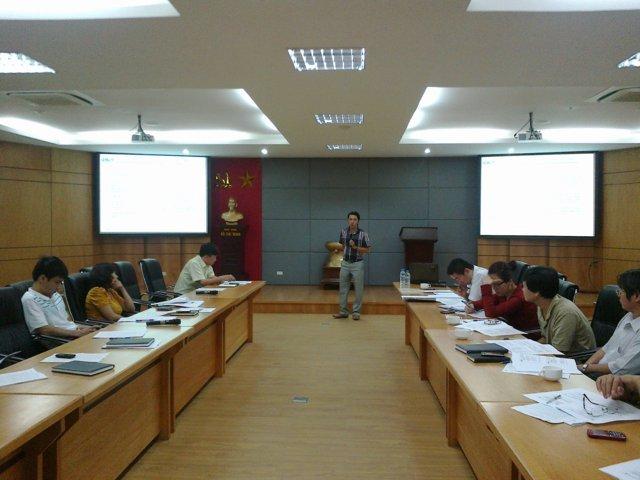Đào tạo nâng cao kiến thức HTQLCL ISO 9001:2008 tại VEAM