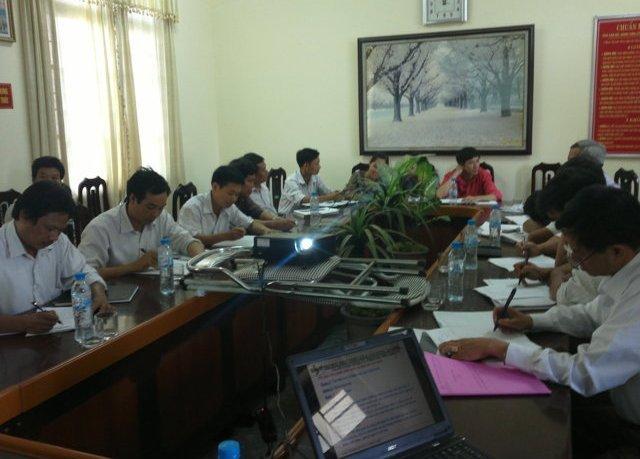Tập huấn nhận thức HTQLCL TCVN ISO 9001:2008 tại UBND thị trấn Hồ, Bắc Ninh