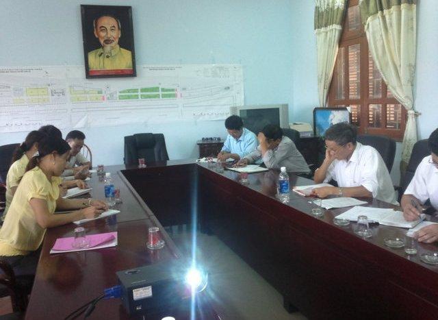 Tập huấn nhận thức HTQLCL TCVN ISO 9001:2008 tại UBND xã Hoàn Sơn, Bắc Ninh