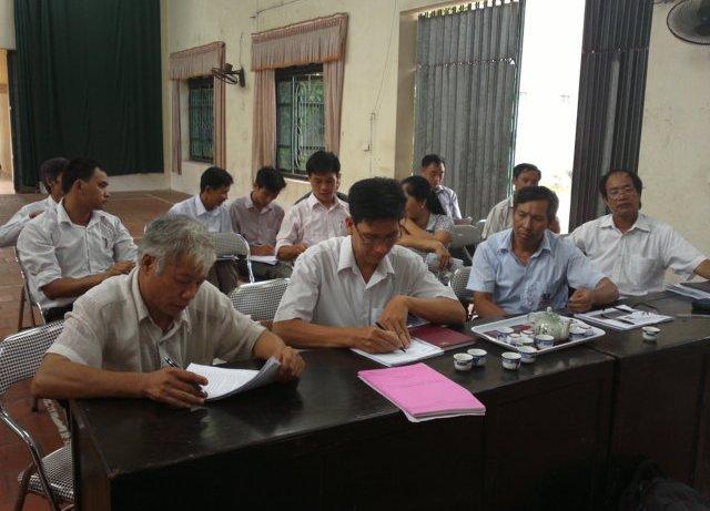 Tập huấn nhận thức HTQLCL TCVN ISO 9001:2008 tại UBND xã Hà Mãn, Bắc Ninh
