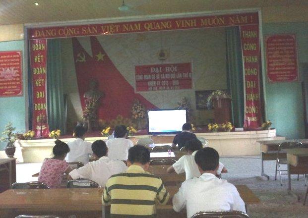 Tập huấn nhận thức HTQLCL TCVN ISO 9001:2008 tại UBND xã Nội Duệ, Bắc Ninh