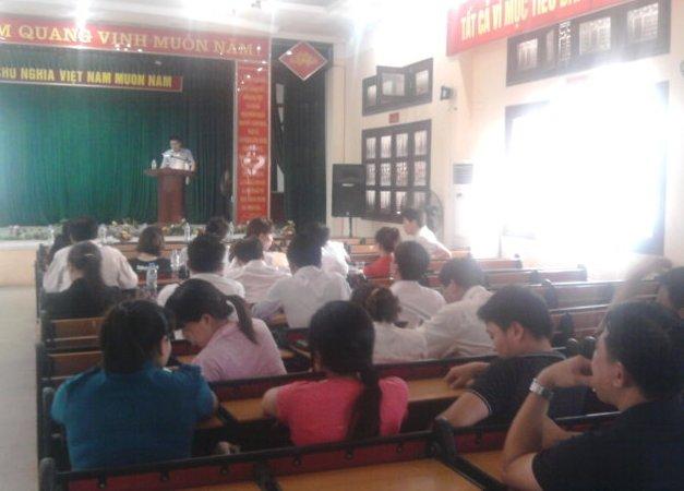 TH nhận thức HTQLCL TCVN ISO 9001:2008 tại Nhà Văn hóa phường Ngọc Lâm, Hà Nội