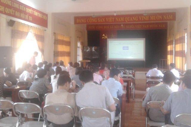 TH nhận thức HTQLCL TCVN ISO 9001:2008 tại hội trường phường Long Biên, Hà Nội