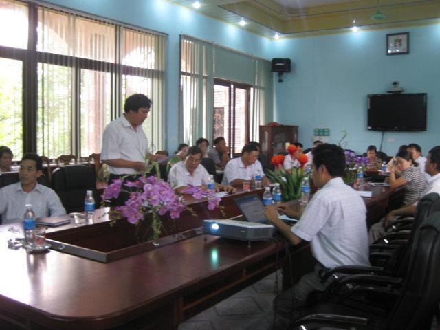 Họp thống nhất triển khai kế hoạch tại UBND huyện Sơn Động, Bắc Giang