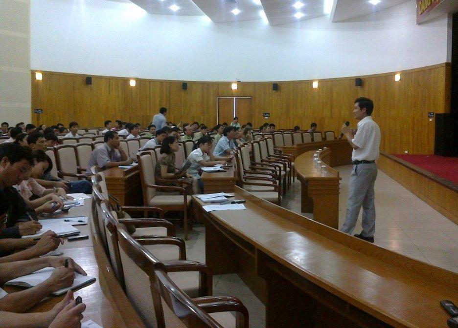 TH nhận thức HTQLCL TCVN ISO 9001:2008 tại UBND quận Long Biên, Hà Nội