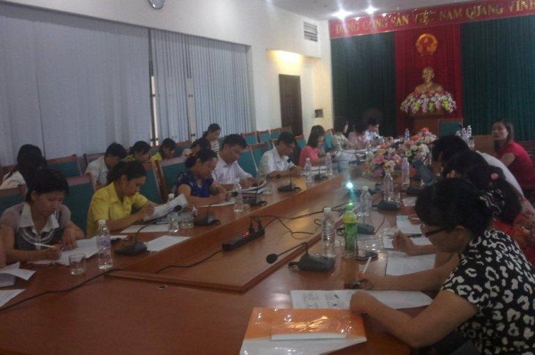 Giới thiệu mô hình khung tại UBND thành phố Hạ Long