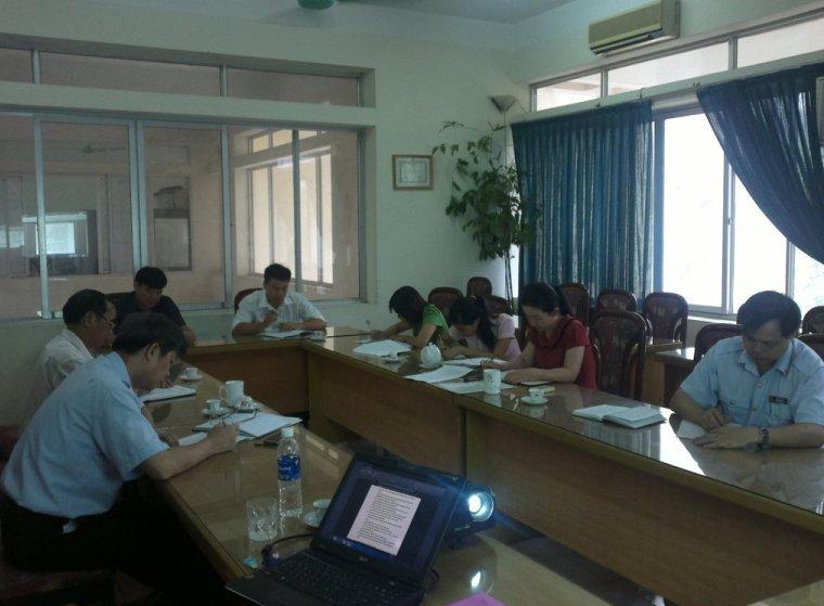 Tập huấn ĐGNB HTQLCL TCVN ISO 9001:2008 tại Thanh tra tỉnh Bắc Kạn