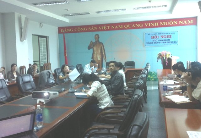 Tập huấn nhận thức HTQLCL TCVN ISO 9001:2008 tại Sở VHTT& DL Gia Lai