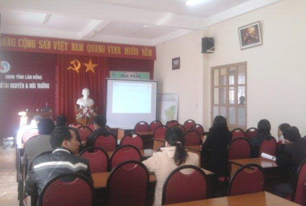 Tập huấn nhận thức HTQLCL TCVN ISO 9001:2008 tại Sở TNMT Lâm Đồng
