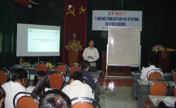 Tập huấn nhận thức HTQLCL tại Sở Khoa học và Công nghệ Bắc Giang