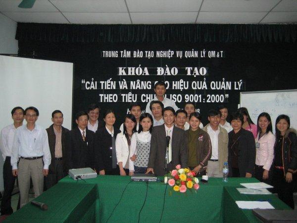 Đào tạo nâng cao & cải tiến HQQL ISO 9001:2000 ngày 14-15/3/2008 tại Hà Nội