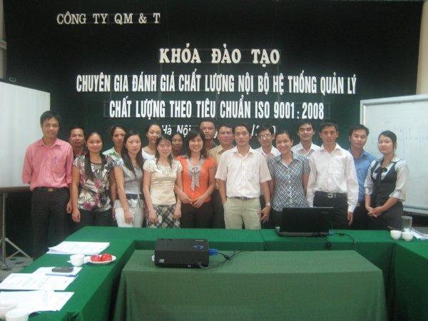 Khoá đào tạo tập trung chuyên gia ĐGNB Hệ thống quản lý chất lượng ISO 9001:2008