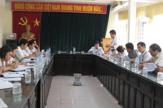 Tập huấn nhận thức HTQLCL ISO 9001:2008 tại Ủy ban nhân dân phường Hoàng Liệt