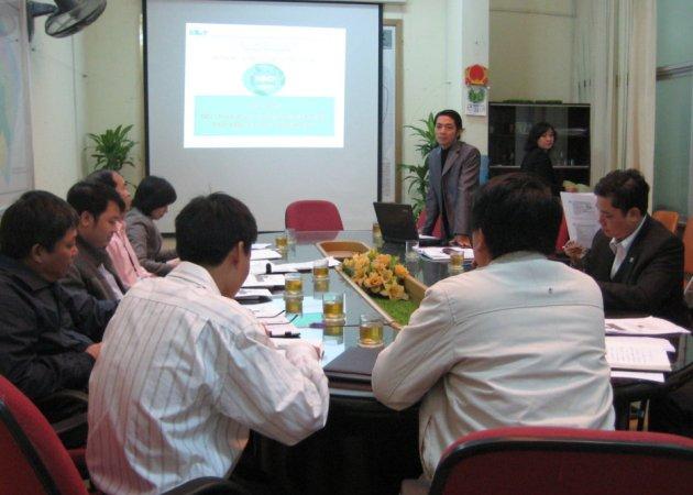 Tập huấn nhận thức HTQLCL ISO 9001:2008 tại Ủy ban nhân dân quận Hoàng Mai